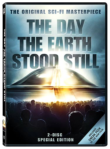 Win a copy of the classic The Day the Earth Stood Still on Special Edition DVD