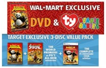 Walmart and Target exclusives for Kung Fu Panda