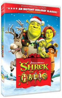 Shrek the Halls DVD cover