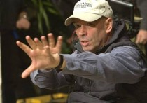 Martin Campbell on the set of Casino Royale