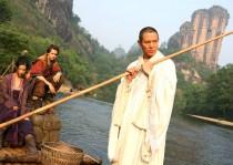 Yifei Liu, Michael Angarano and Jet Li in The Forbidden Kingdom