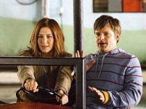 Jennifer Aniston and Steve Zahn in Management