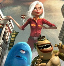 Scene from Monsters Vs. Aliens