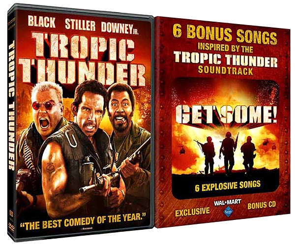 Tropic Thunder disc releases to include two retail exclusives