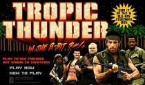 Tropic Thunder In the 8-Bit Shit Online Game