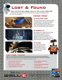 Wall-E Lost and Found game