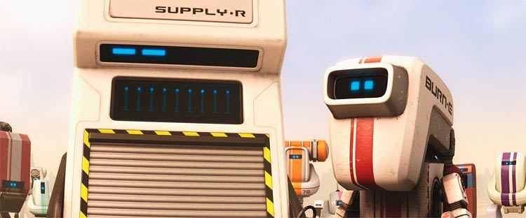 Special Wall-E movie clips, trivia, quiz, brand new photos and a hidden item game