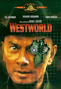 Poster from the 1973 Michael Crichton film Westworld