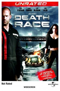 Death Race Unrated DVD cover
