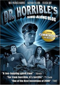 Click image to ORDER Joss Whedon series Dr. Horribles Sing Along Blog