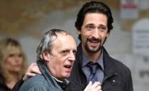 Dario Argento and Adrien Brody on the set of Giallo