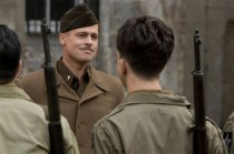 Brad Pitt as Lt. Aldo Raine in Quentin Tarantino war film Inglourious Basterds