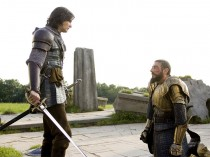 Ben Barnes and Sergio Castellitto in Chronicles of Narnia Prince Caspian