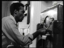 Duane Jones as the ill-fated hero Ben in the Goerge A. Romero classic Night of the Living Dead