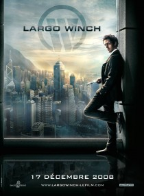 French movie poster for Largo Winch