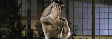 Bruce Lee in the 1970 film Jing wu men or The Chinese Connection