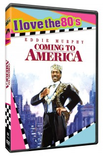 Coming to America DVD cover
