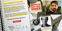 The Netflix FIND Your Voice Film Competition website