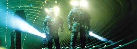 Salvage scene from Event Horizon