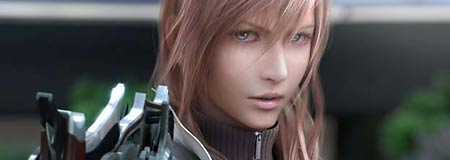 Scene from Final Fantasy XIII