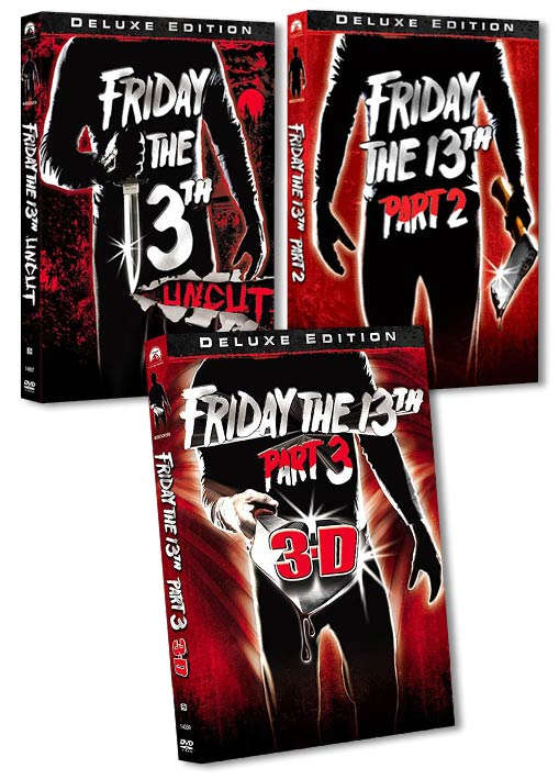 Friday the 13th Deluxe Editions