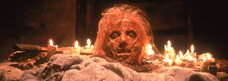 The remains of Mrs. Pamela Voorhees from Friday the 13th