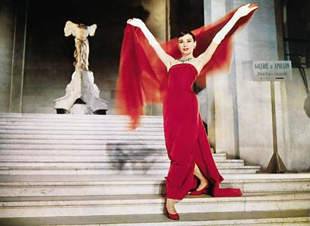 Audrey Hepburn shines in Funny Face