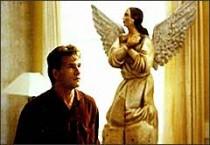 Patrick Swayze in a scene from the Oscar-winning film Ghost
