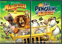 Madagascar Escape 2 Africa DVD two pack