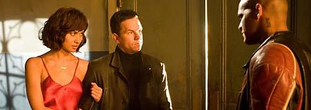 Olga Kurylenko - Mark Wahlberg and Amaury Nolasco in Max Payne
