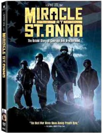 Miracle at St. Anna DVD box cover