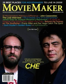 Cover of Winter 2009 edition of MovieMaker Magazine
