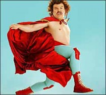 Jack Black goes Nacho Libre