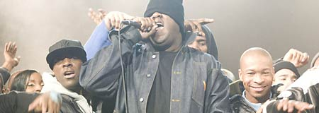 Jamal Woolard as Christopher Wallace a.k.a. Biggie Smalls in Notorious