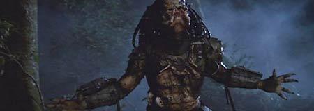 Alien hunter from the 1987 John McTiernan film Predator