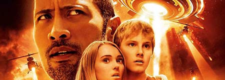 Dwayne Johnson - AnnaSophia Robb and Alexander Ludwig in Race to Witch Mountain