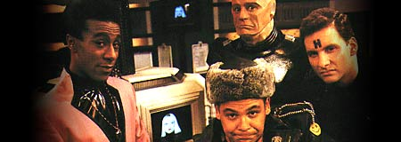 Cast from the original UK cult sci-fi comedy Red Dwarf