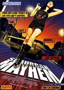 Suburban Mayhem movie poster
