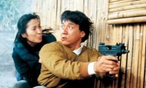 Jackie Chan and Michelle Yeoh in Supercop