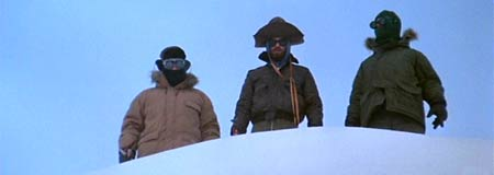 A scene from the 1982 version of The Thing