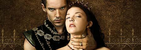 Jonathan Rhys Meyers and Natalie Dormer in The Tudors