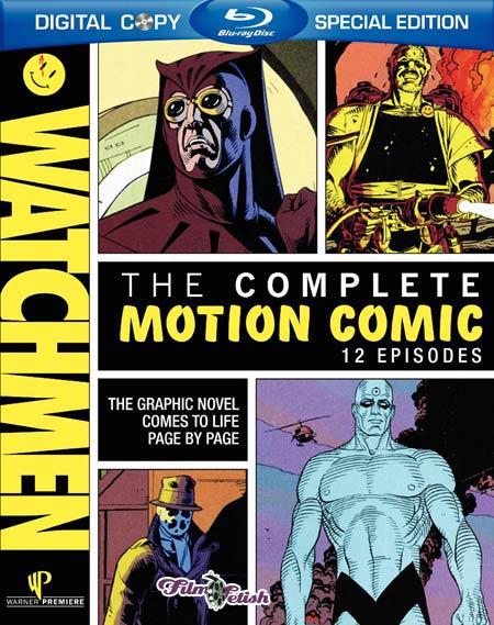 Watchmen Motion Comic Blu-ray release box art