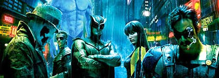 Detail view of the final Watchmen one sheet
