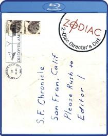 Zodiac Directors Cut Blu-ray cover