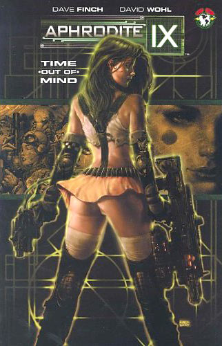 Aphrodite IX comic cover detail