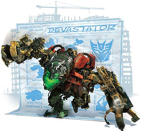 Devastator from Transformers: Revenge of the Fallen