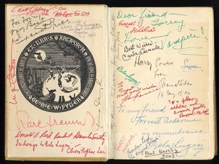 Bram Stoker Dracula book - inside
