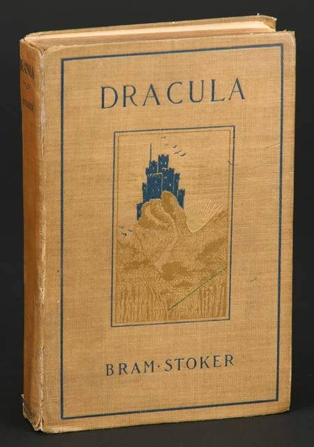Bram Stoker Dracula book - cover