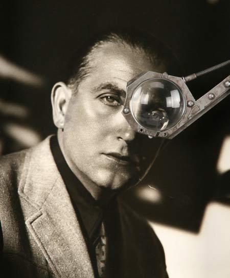 Fritz Lang monocle worn during Metropolis filming