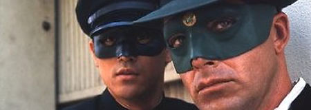 Bruce Lee and Van Williams in The Green Hornet series from the 1960s